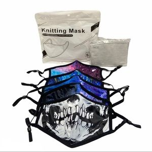 5 Pack Face Masks with Filter